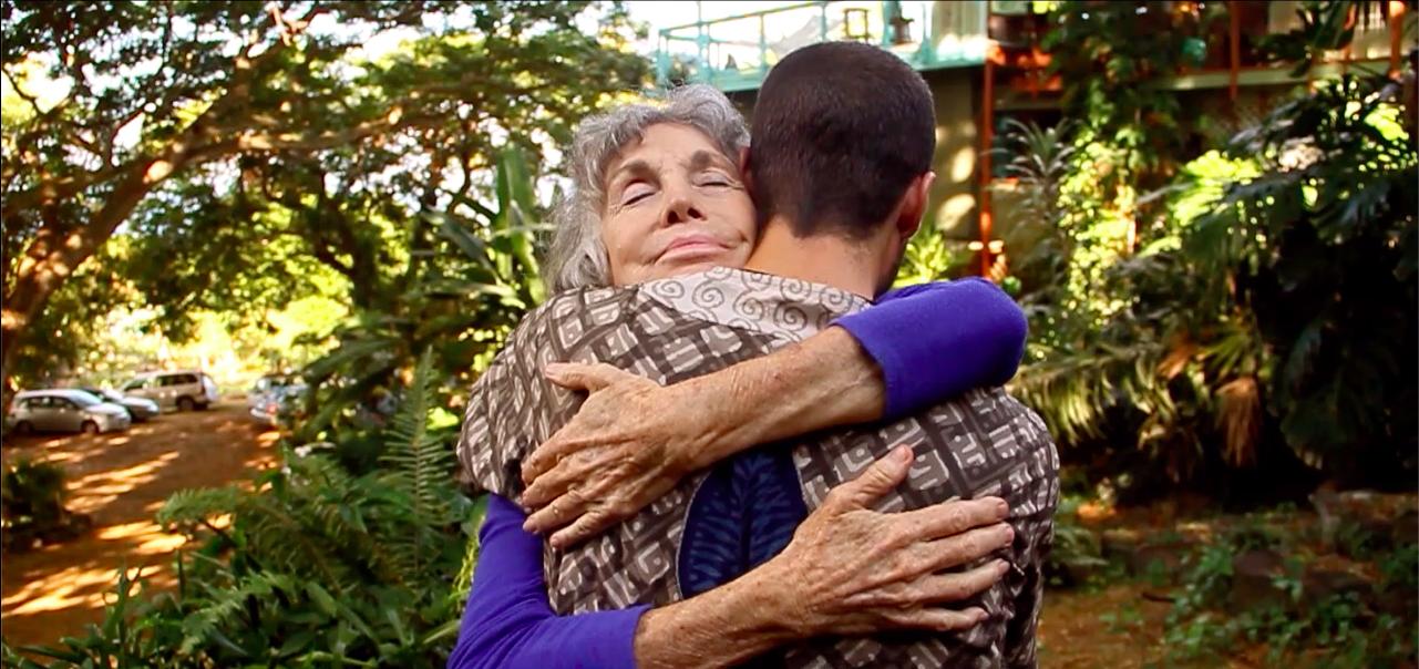 Barbara & I Hugging (AWAKEN Film Screenshot).png