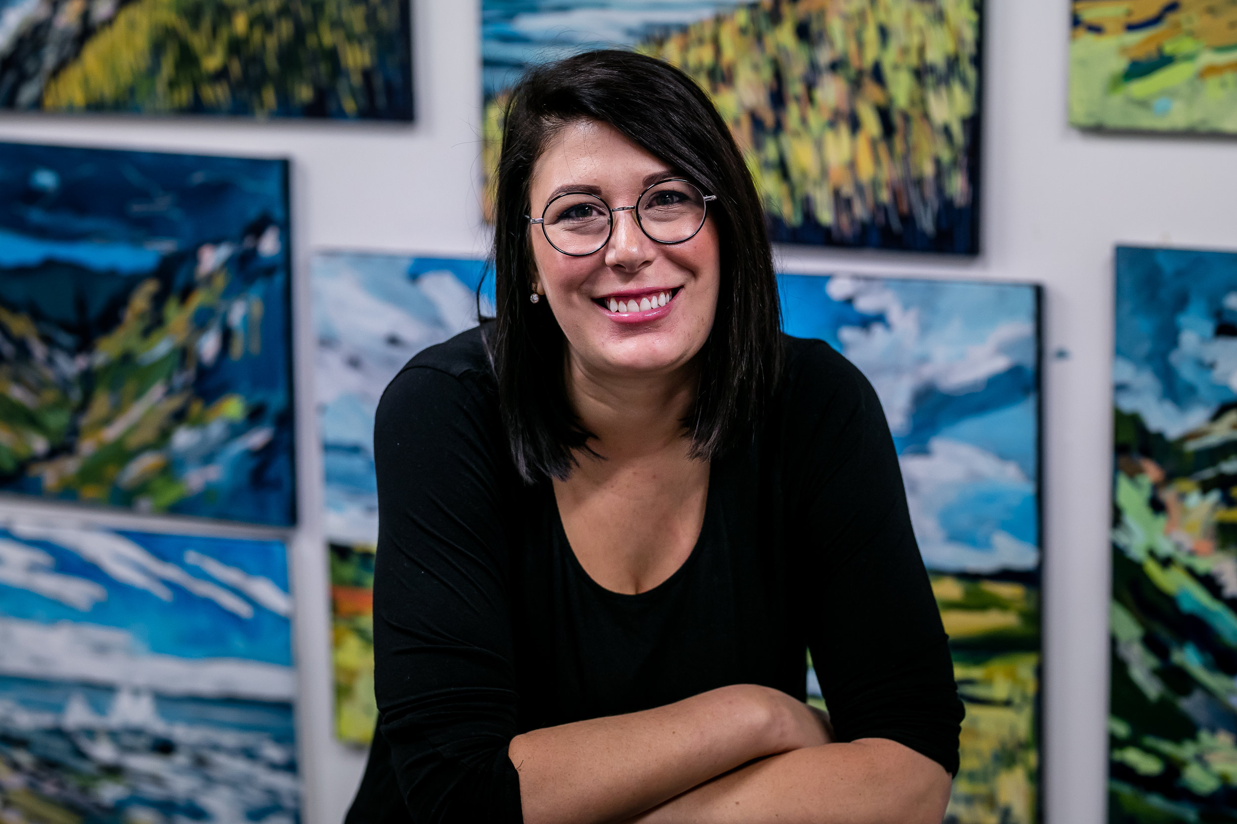 Edmonton Local Artist, Amy Dixon