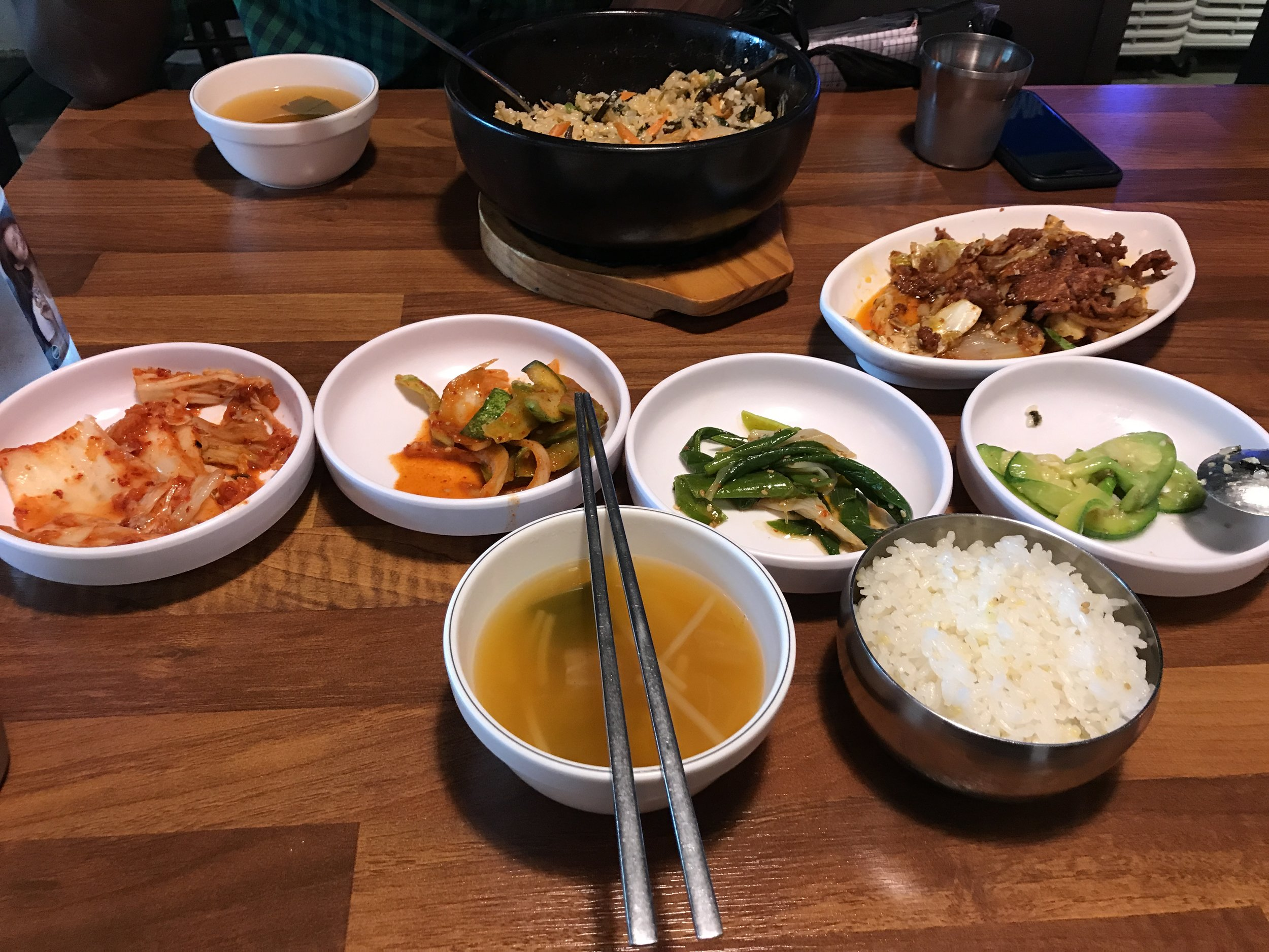 Korean food is my jam, for real.