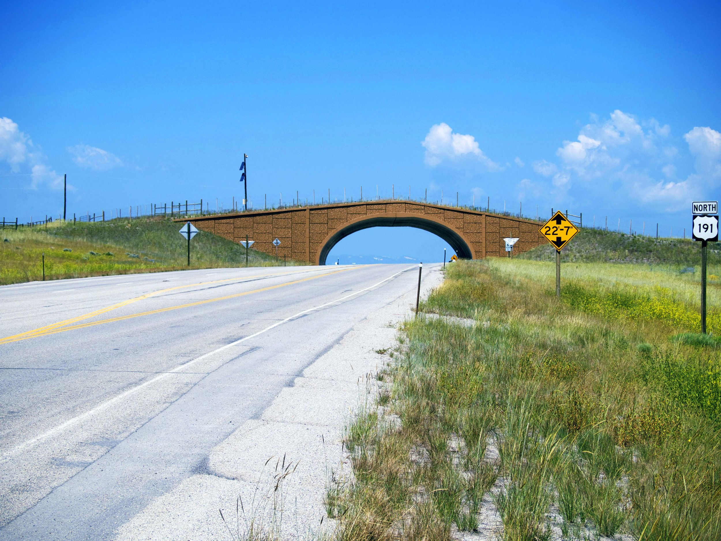 Pronghorn Overpass, WY - Photo by Tim Giller