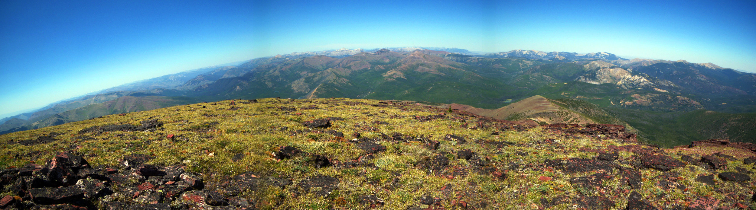 The Scapegoat Wilderness from Red Mountain - Photo by Tim Giller