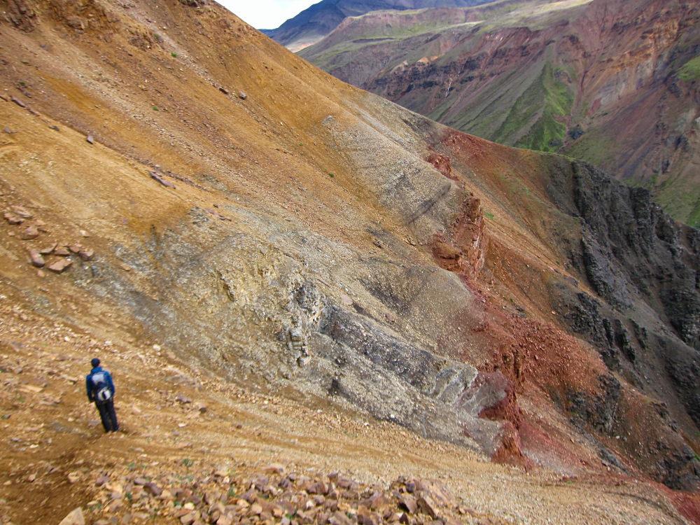 Scree Slopes, Wrangell-St Elias NP - Photo by Rachael Brown