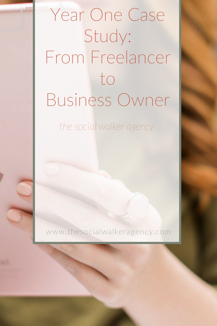 It's time to start acting like a business owner and not just a side hustler.   |  The Social Walker Agency