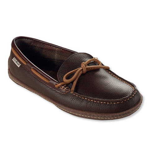 L.L. Bean | Men's Flannel Lined Slippers