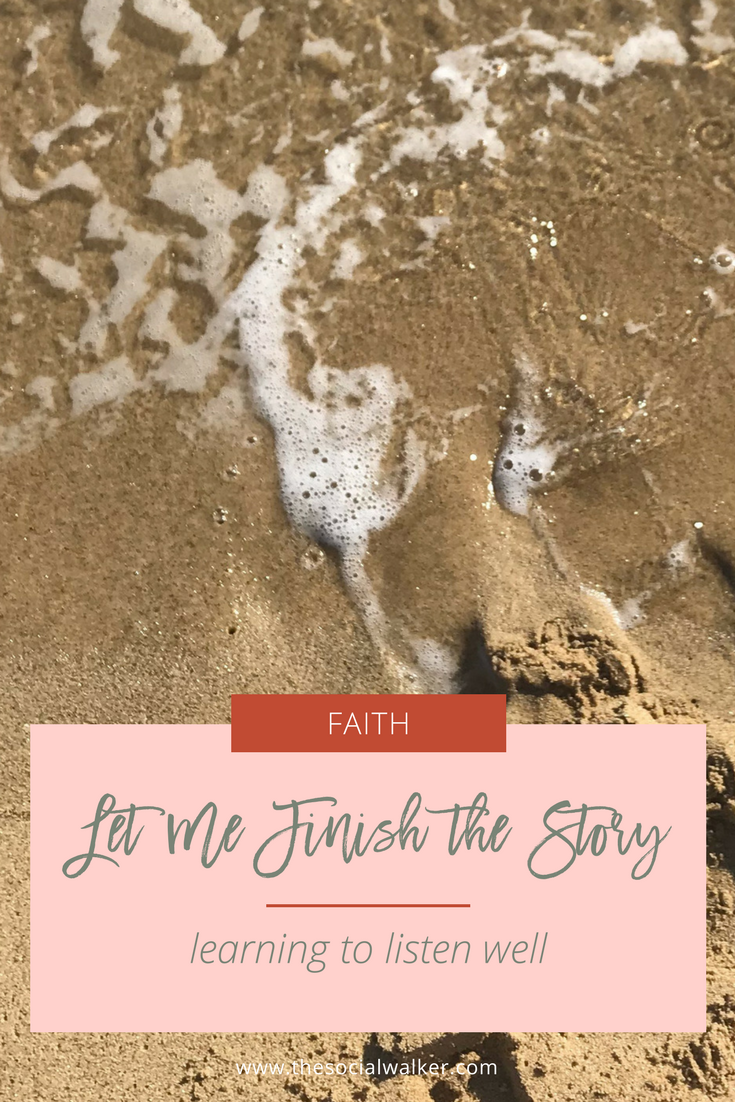 My story, your story, is unfinished, but it is NOT at a standstill.  |  The Social Walker Blog
