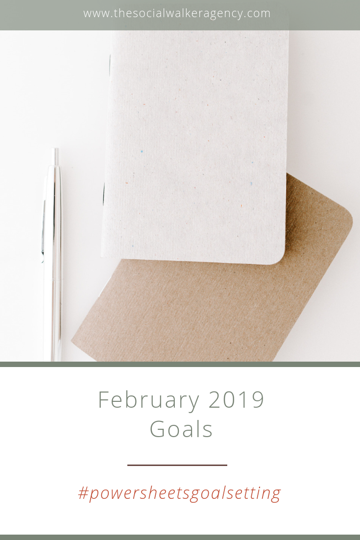 I didn't write too many big goals this month as my main focus was to get back to my basic content framework. I did have something big come up this month I wasn't expecting so that threw me for a bit of a loop too, but now that I'm looking at the month in review, I did accomplish some of what I set out to do!  |  The Social Walker Agency