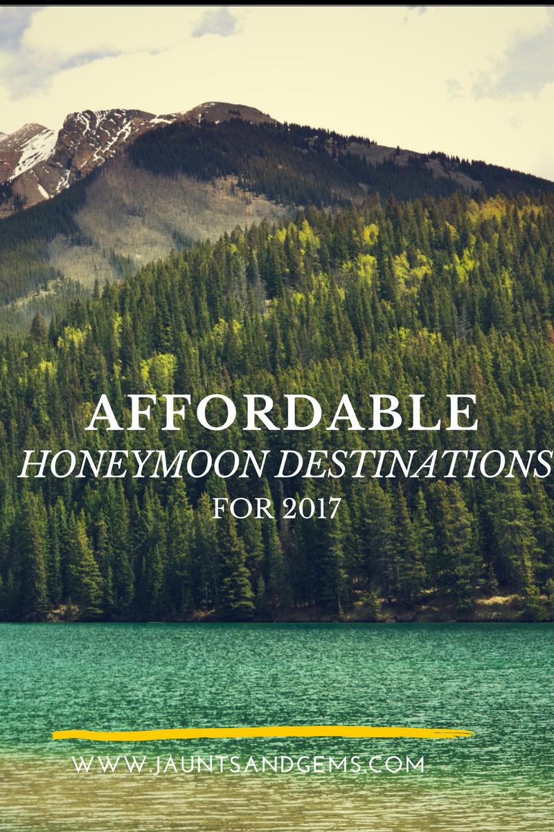 affordable honeymoon