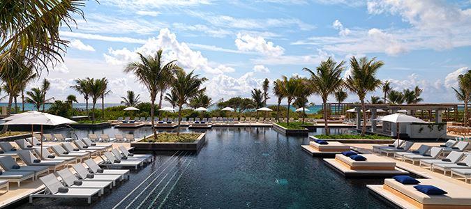 unico riviera maya pool