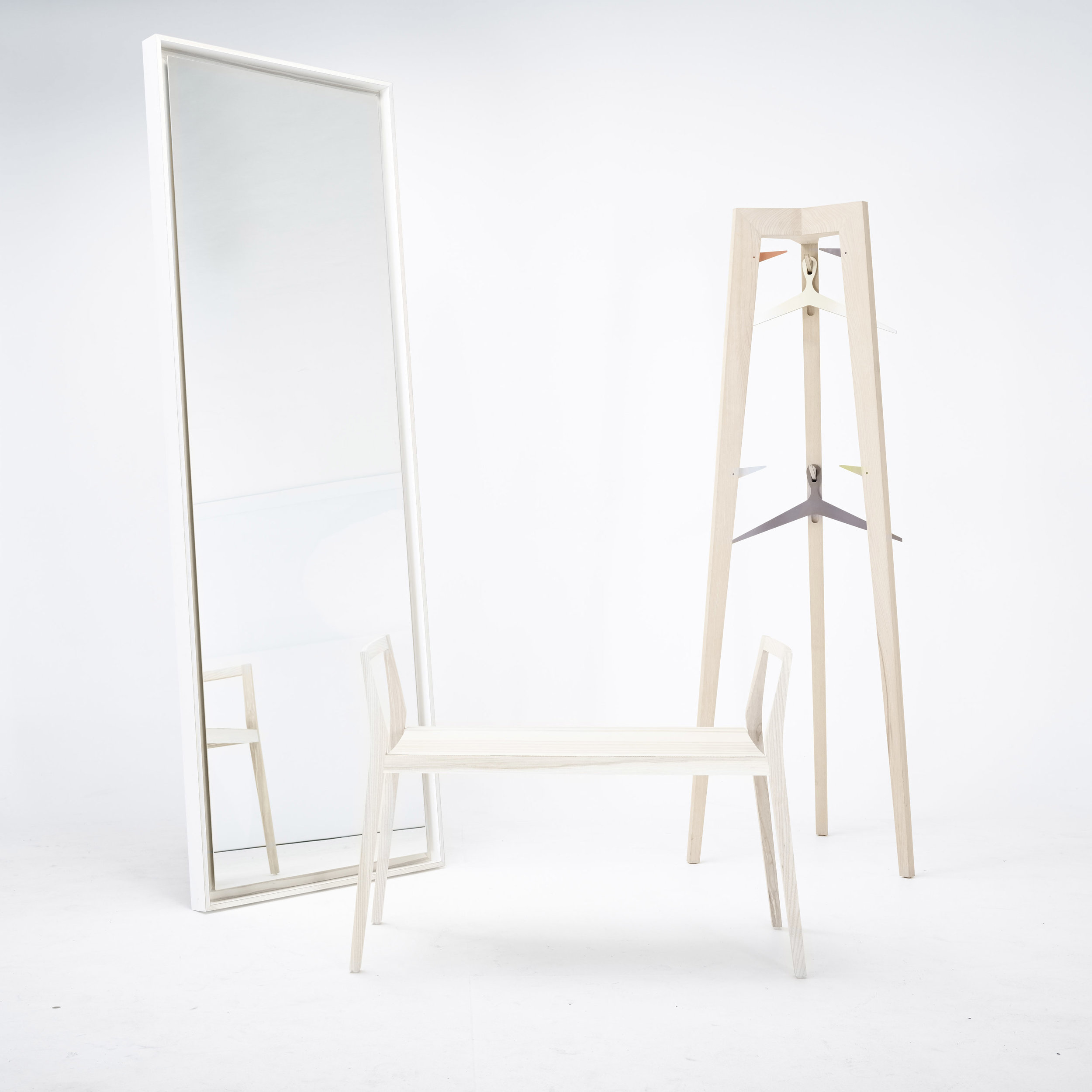 mint furniture mirror