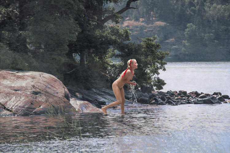MaryLois   After Anders Zorn's Morgonbad