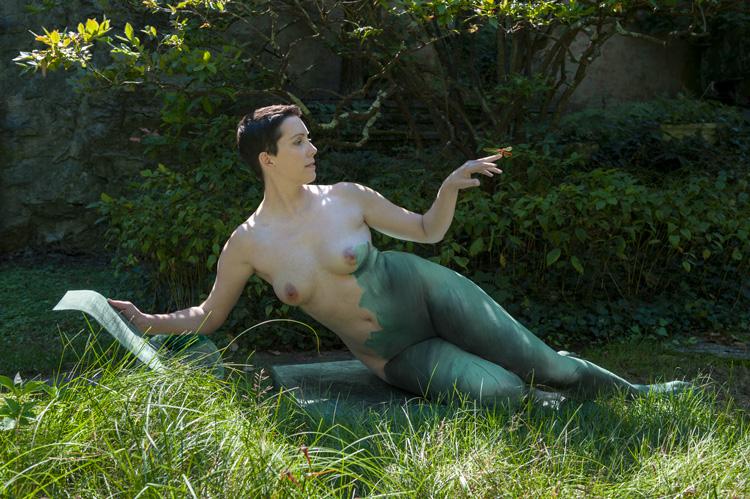 Michelle | Dichotomy Bronze 5, in situ