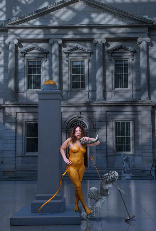 Gina   Color Me . . . As Saint-Gaudens' Diana, Repast
