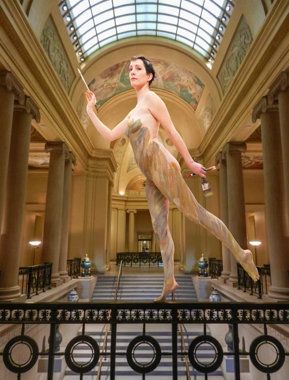 Michelle   Color Me . . . As Sargent, MFA Boston