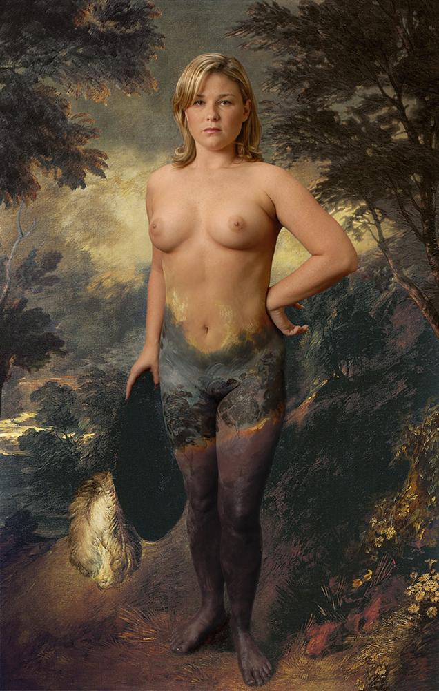 Sara | After Gainsborough