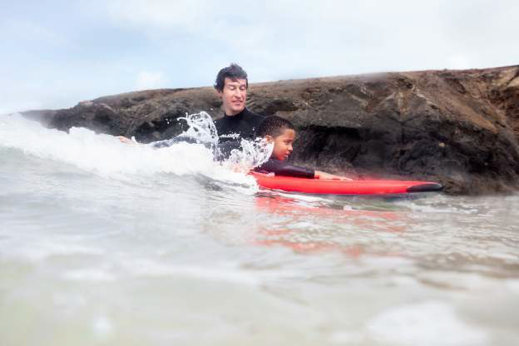 . The feelings we get when riding a wave, the connection with the ocean. It's life changing!