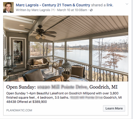 Facebook ads can gain attention