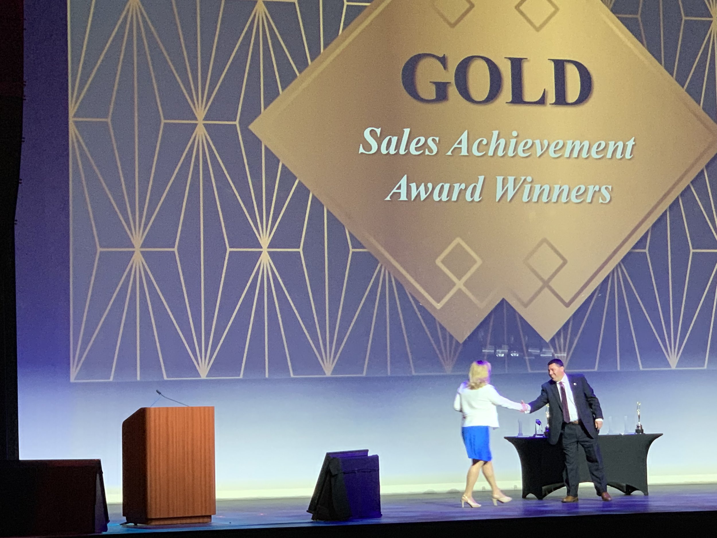Michelle lagrois carey gold sales achievement