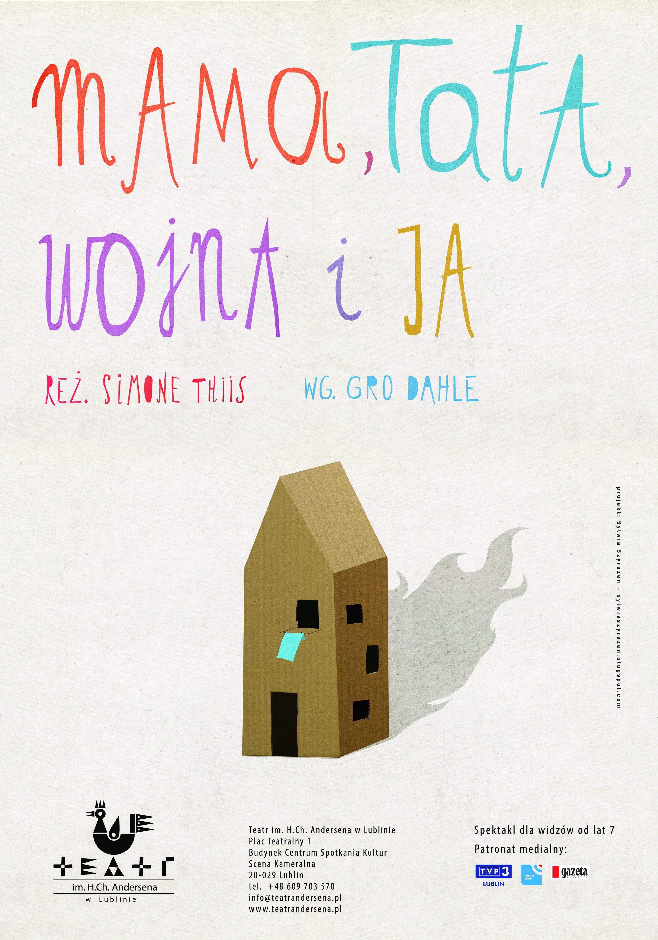 Plakatdesign: Sylwia Szyrszen