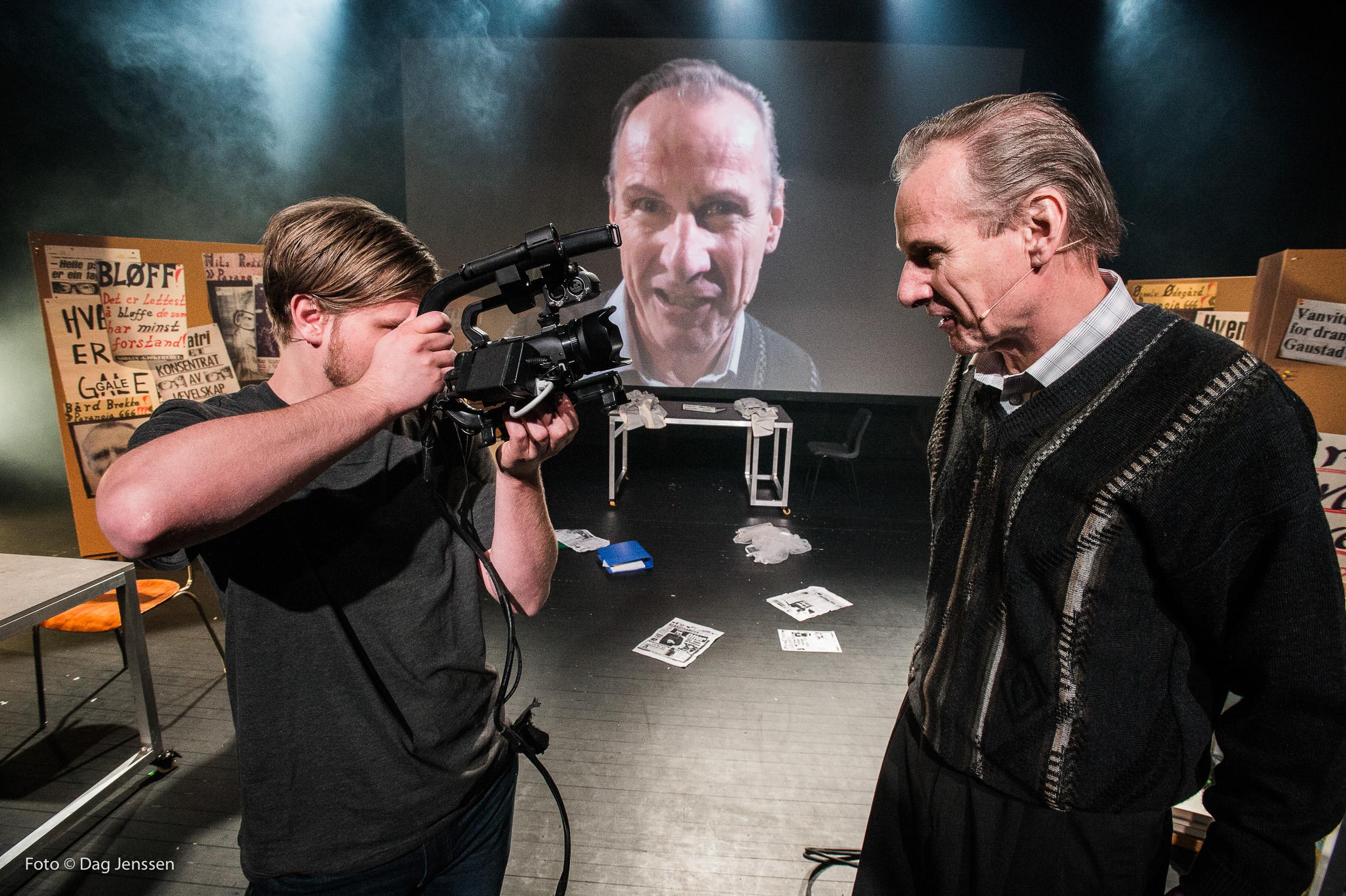 «Juklerødsaken». F.v. Kasper Skovli Botnen, Ola Otnes. Foto: Dag Jenssen