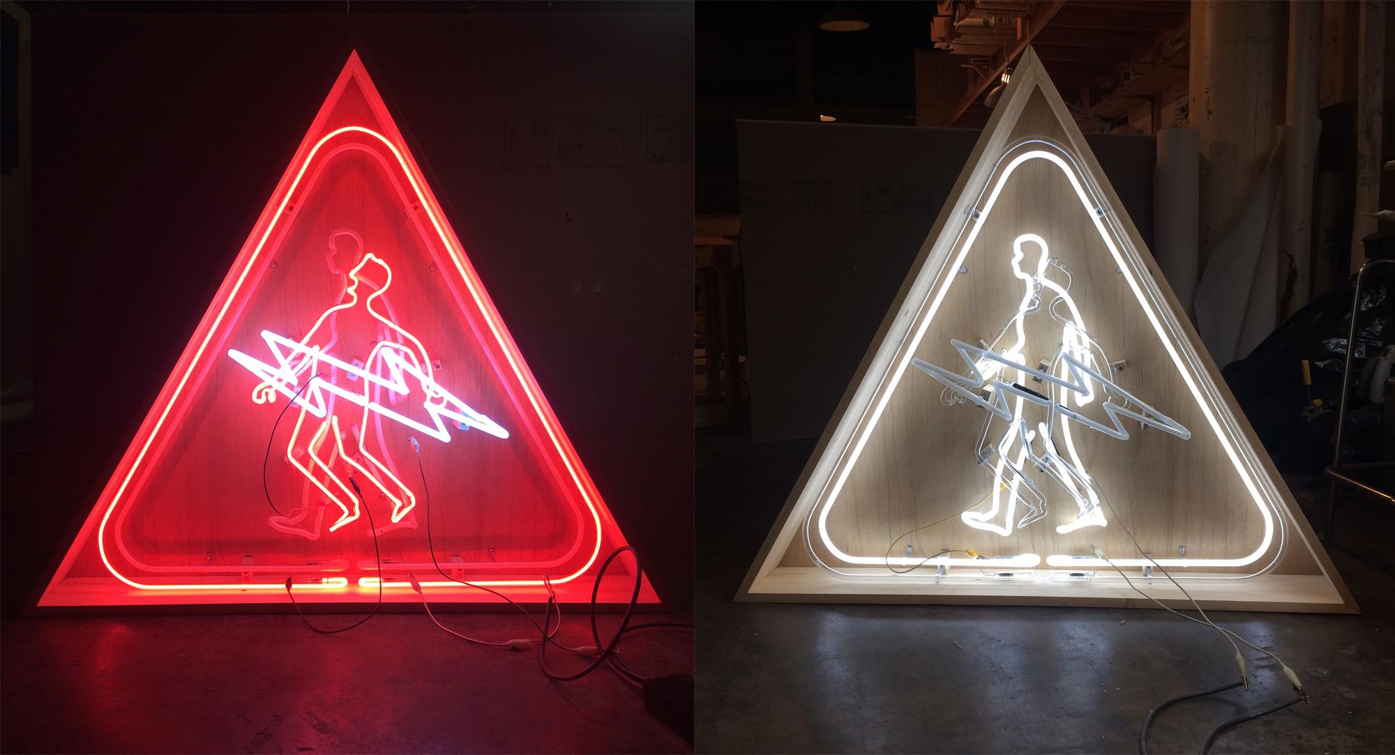 Ashop-Five8-Neon art-Montreal