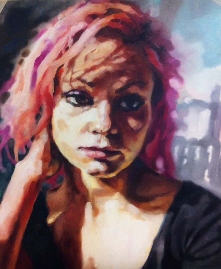 Ashop-Lacey&Layla-Oil on canevas-Montreal-2015