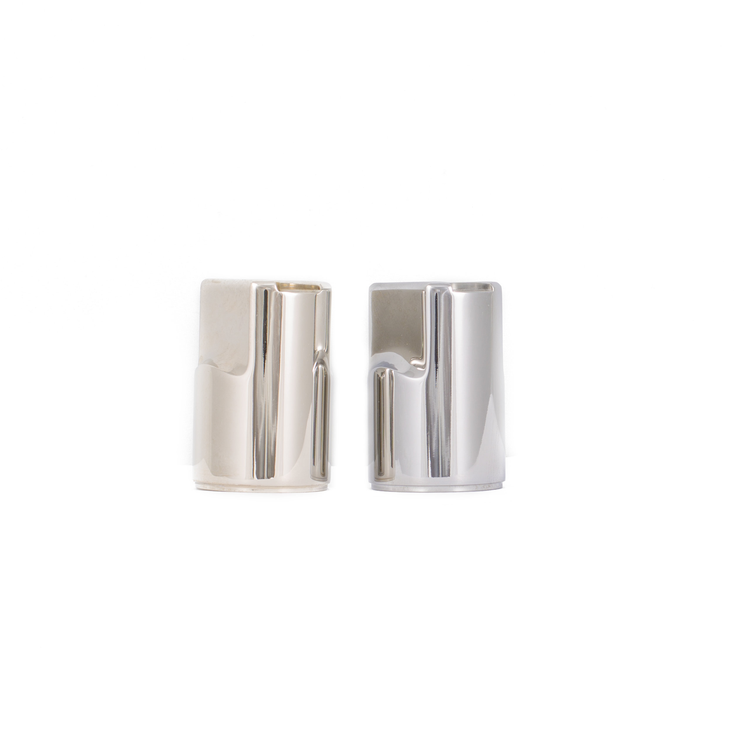 polished nickel vs. chrome