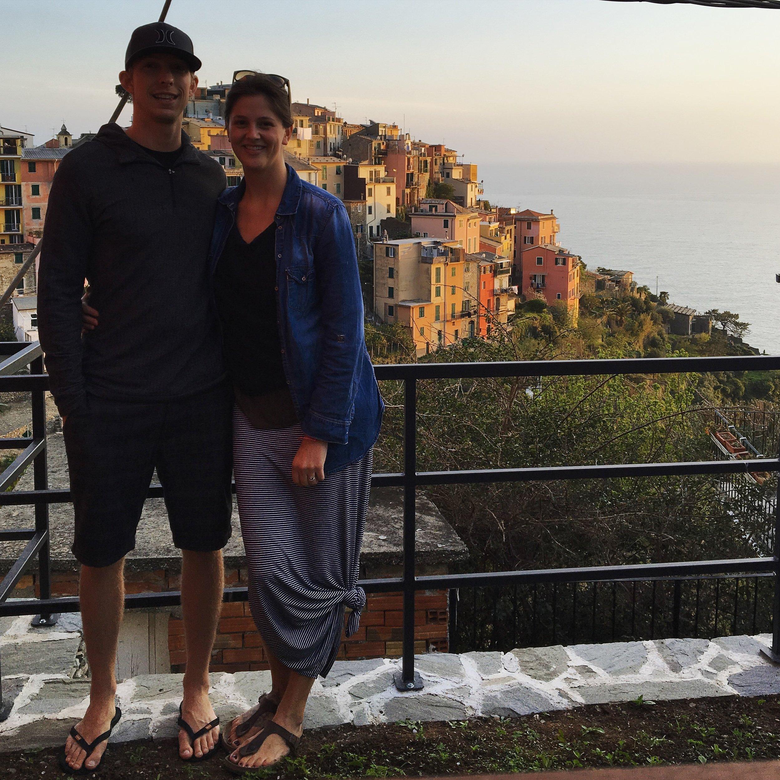 Honeymoon April 2016 -- Corniglia,Cinque Terre, Italy