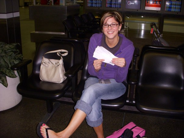 MSP circa 2008? Holding my first of many one way tickets!