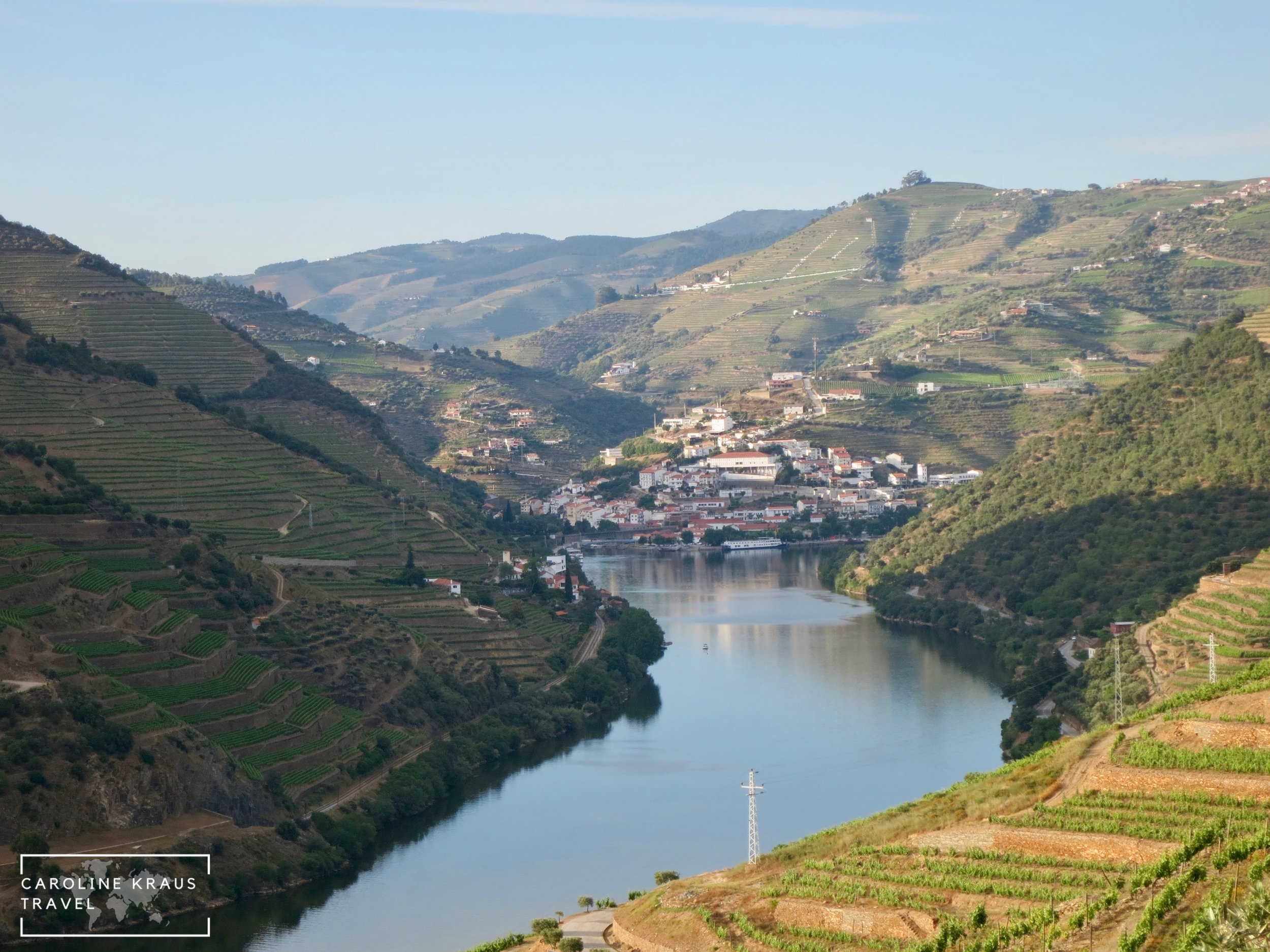 Town of Pinhao in the Douro Valley, Portugal