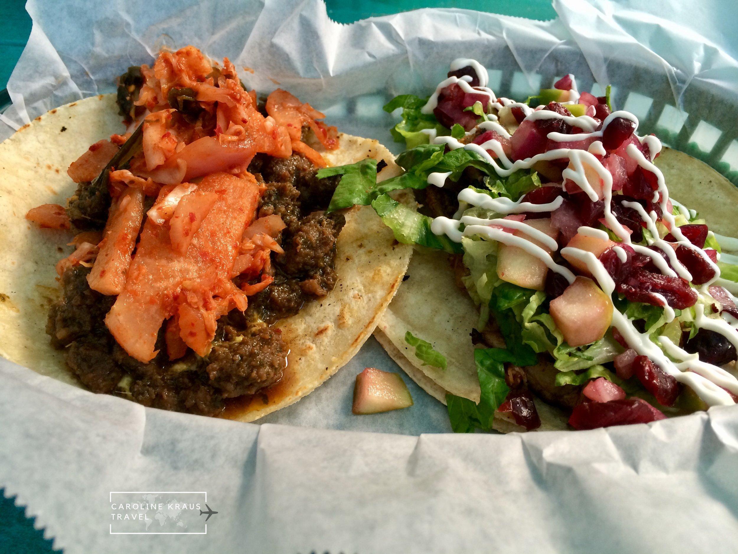 Tacos at Taco Billy