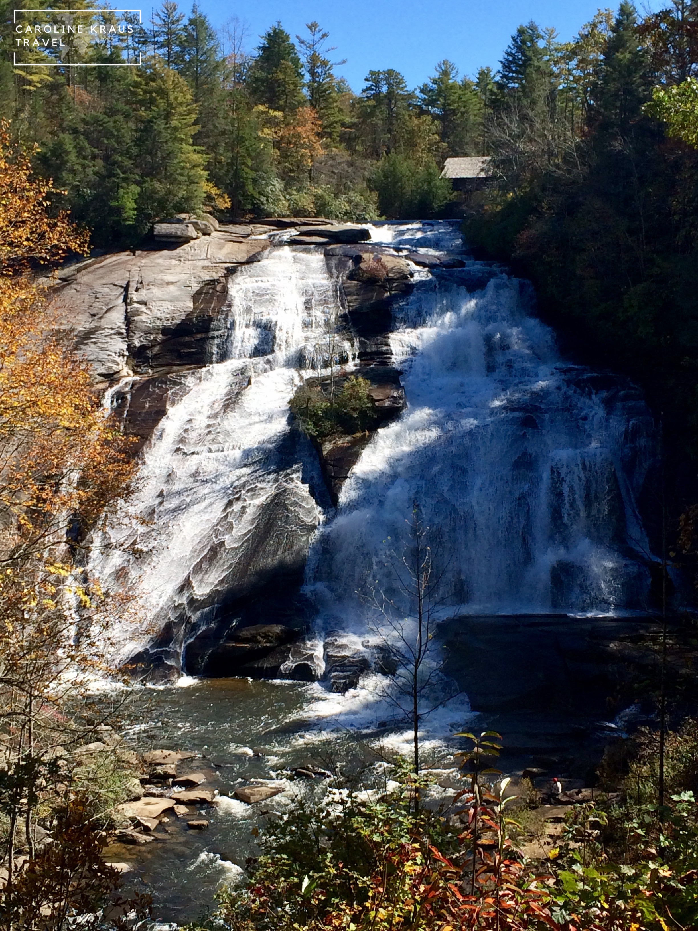 Waterfall in Dupont State Forest