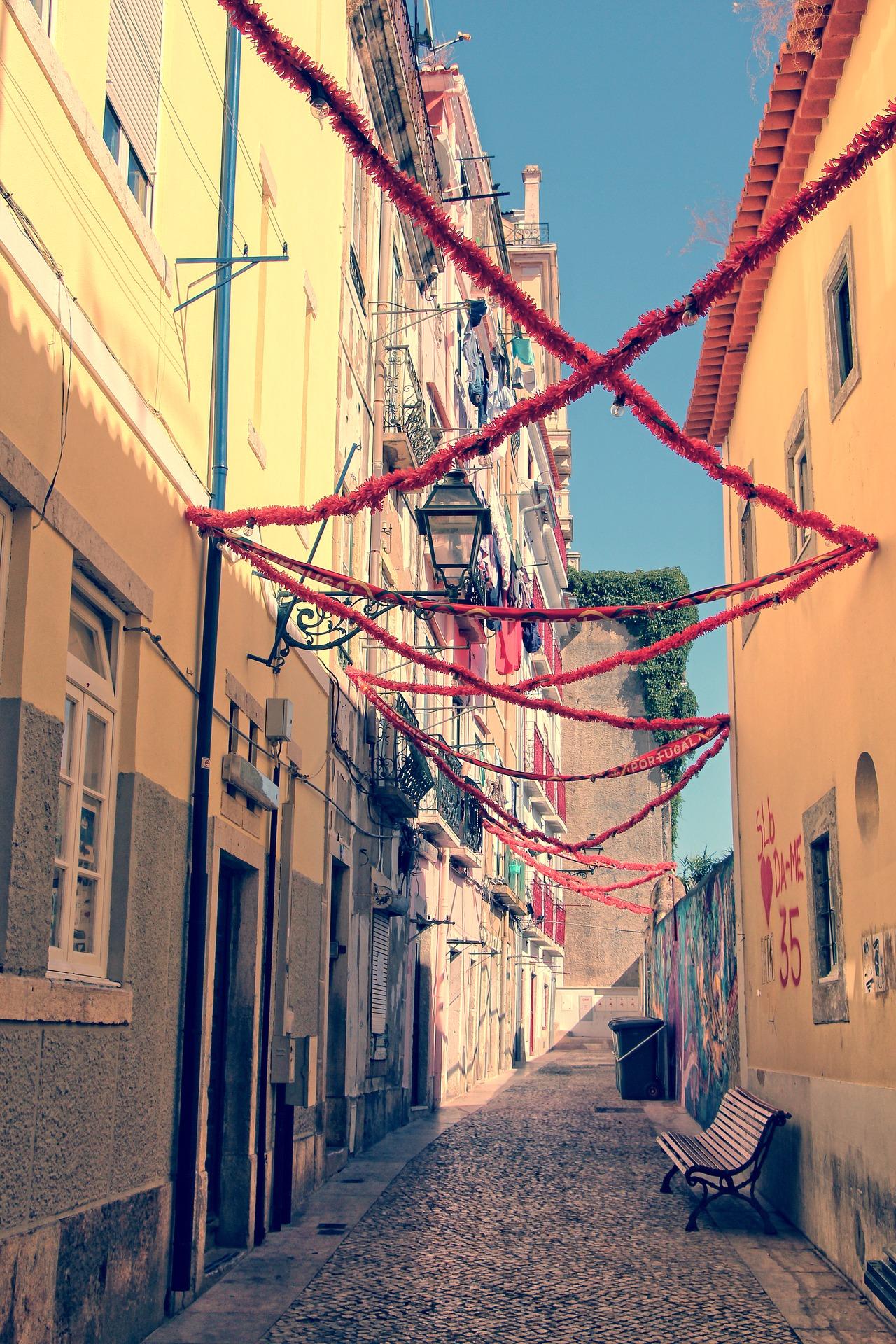Streets of Alfama
