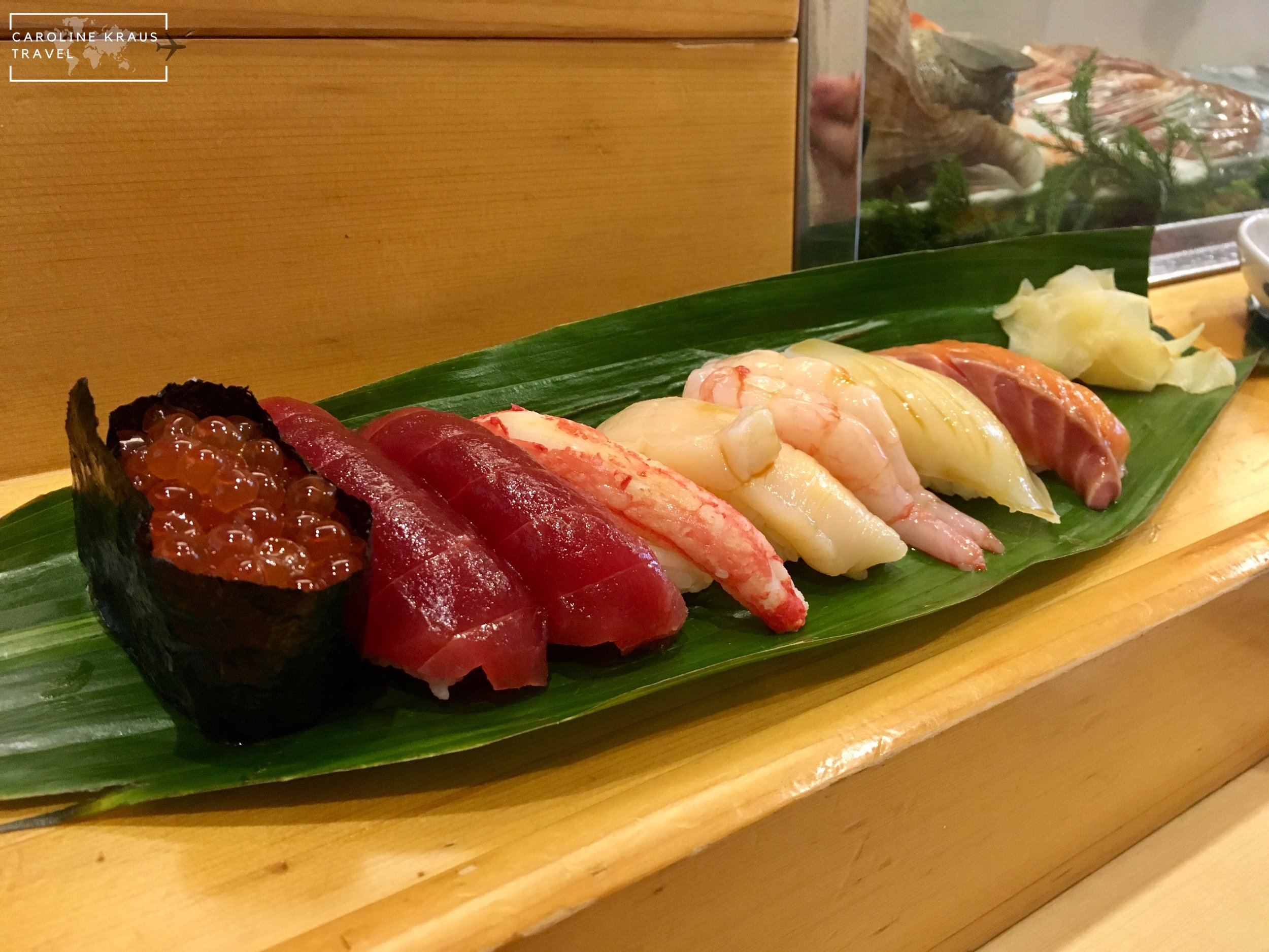 Sushi brunch at Yamazaki