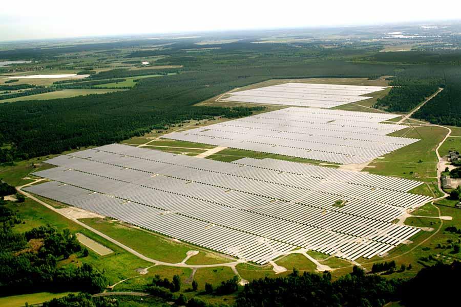 Size: 90 MWp  Grid Connection: 2011  Role: Development