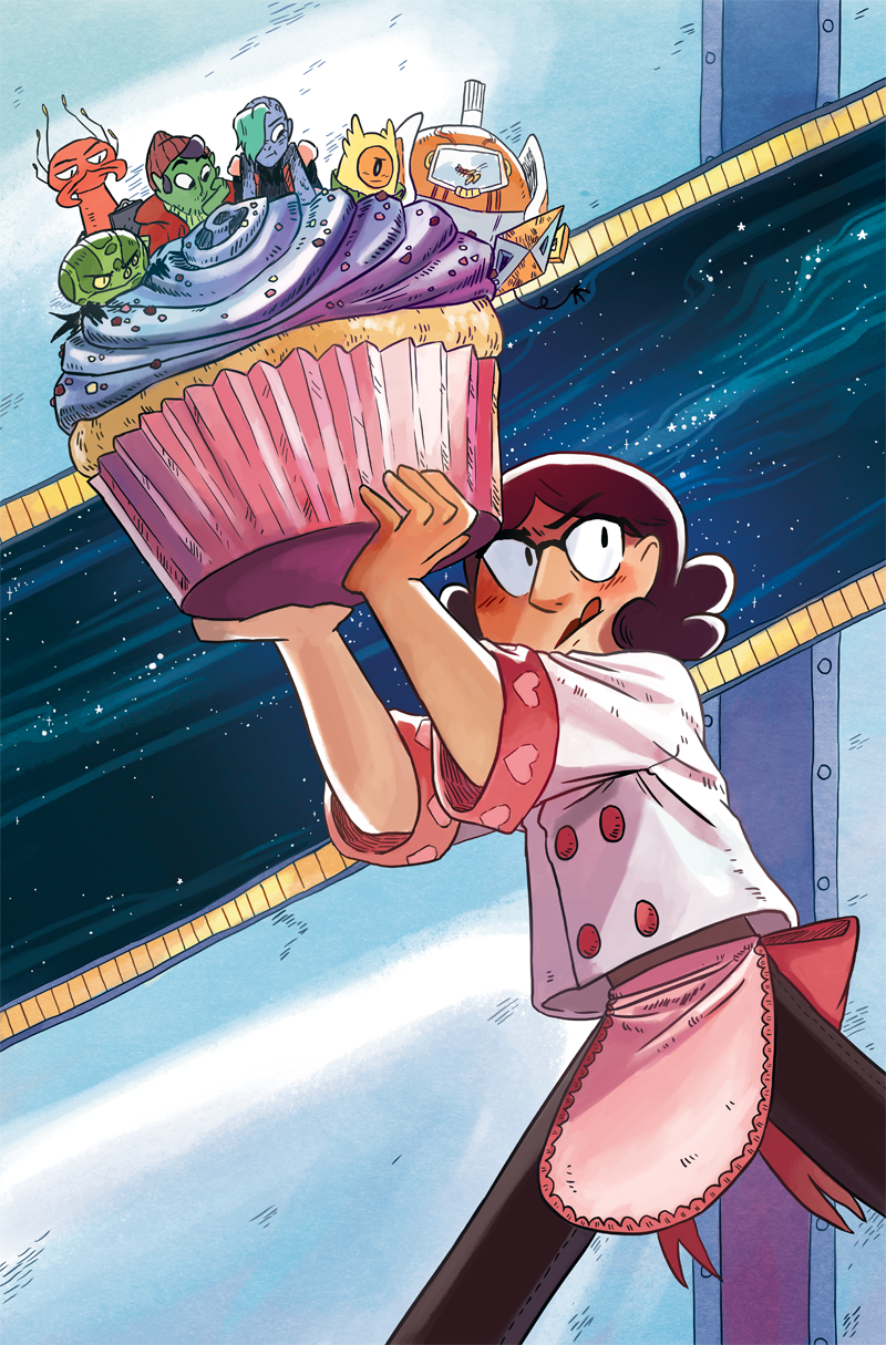 Space Battle Lunchtime Issue #3 Cover