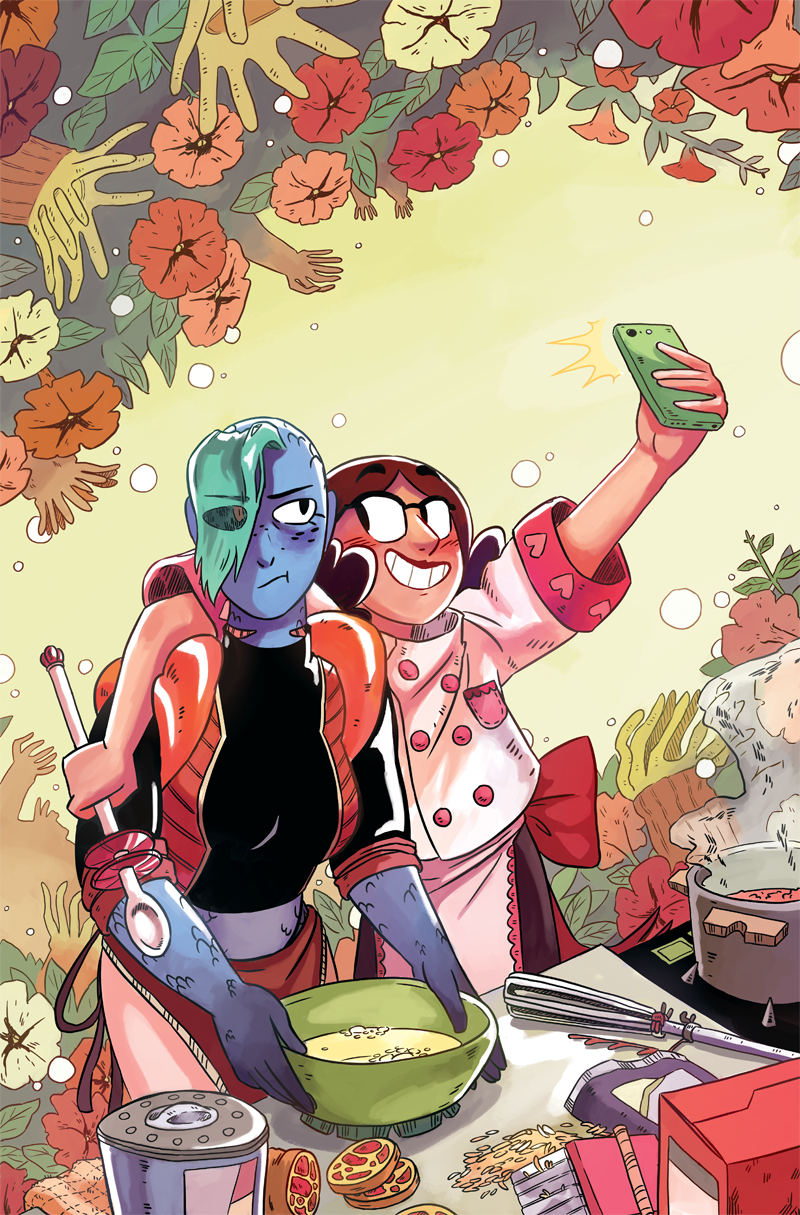 Space Battle Lunchtime Issue #4 Cover
