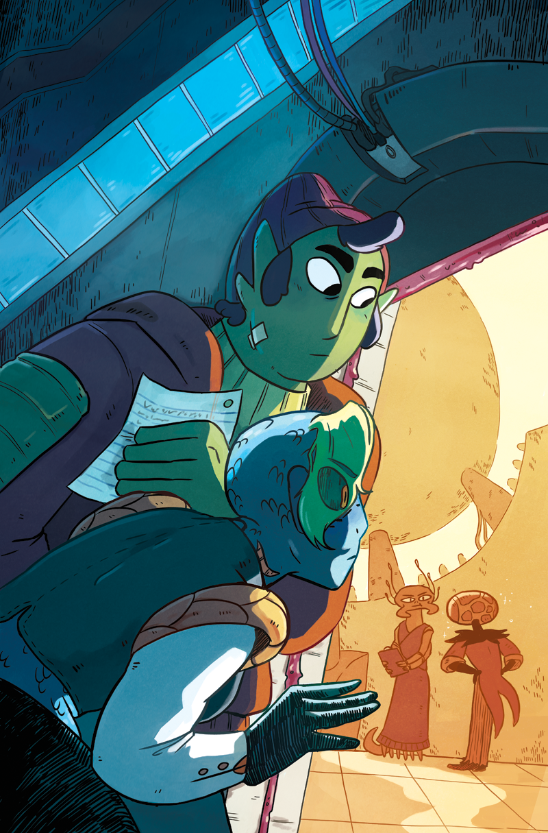 Space Battle Lunchtime Issue #5 Cover