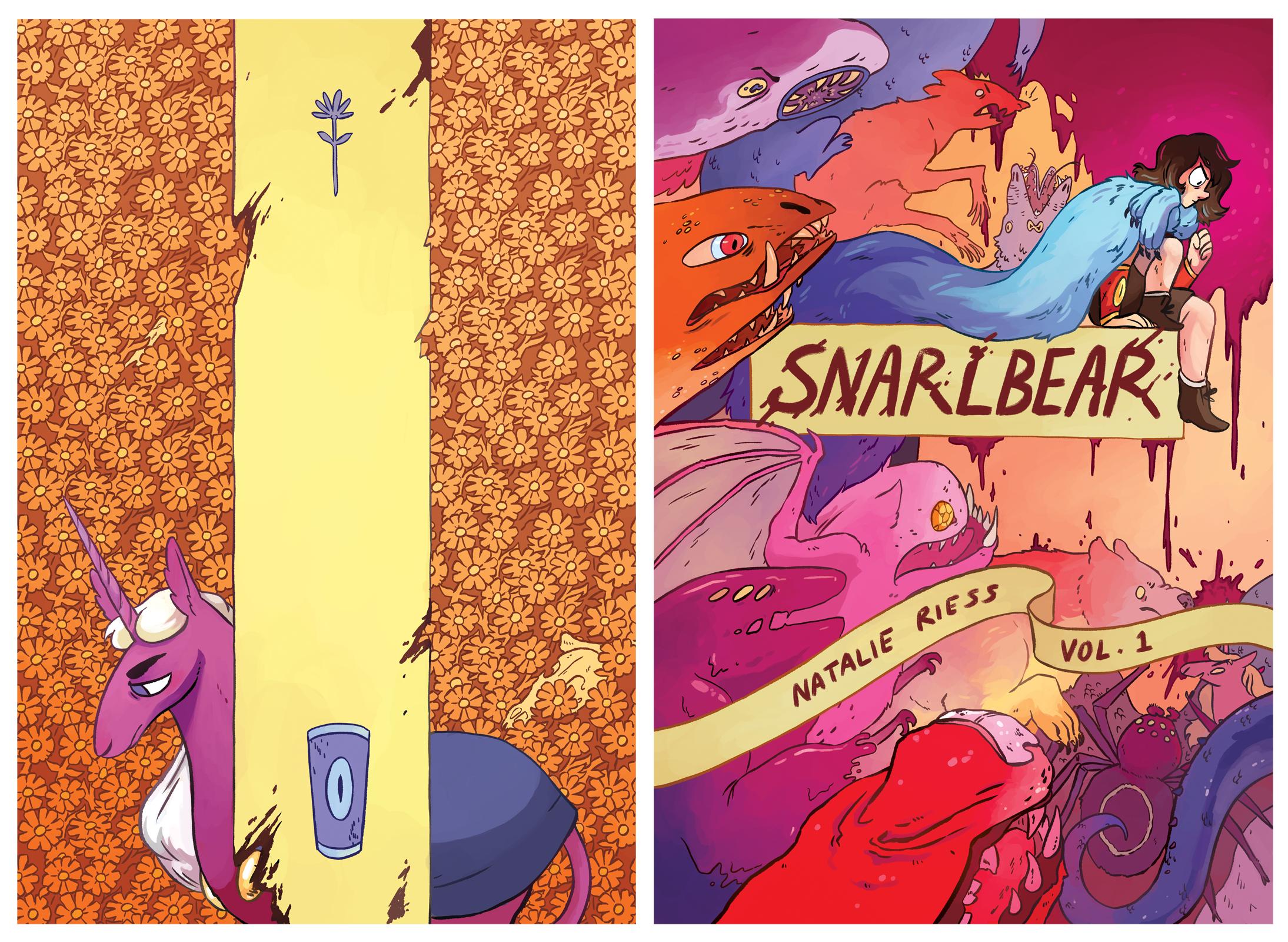 Snarlbear Vol 1 Covers