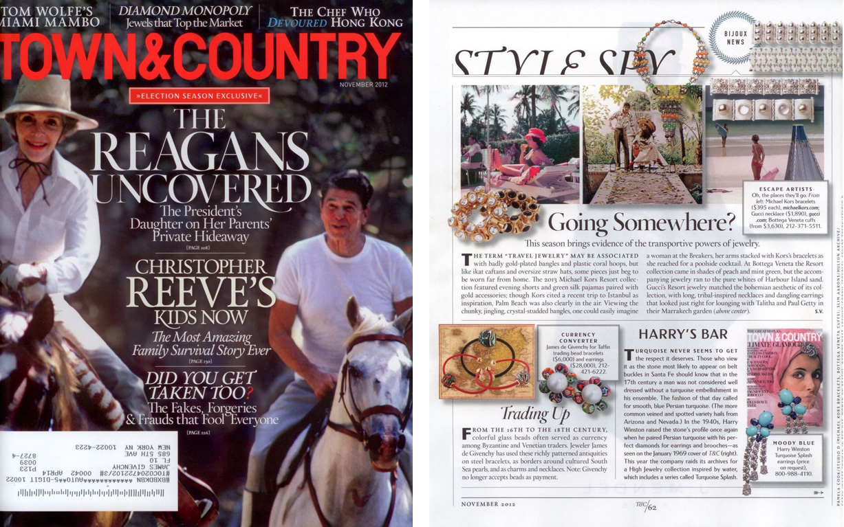 T&C Nov 2012 Cover and page