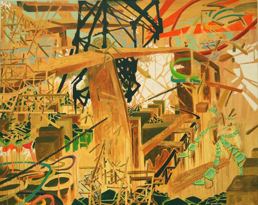 Coaster 48in x 60in on wood panel_SANTIAGO.jpg