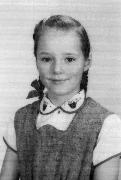 Shirley Hershey, grade three