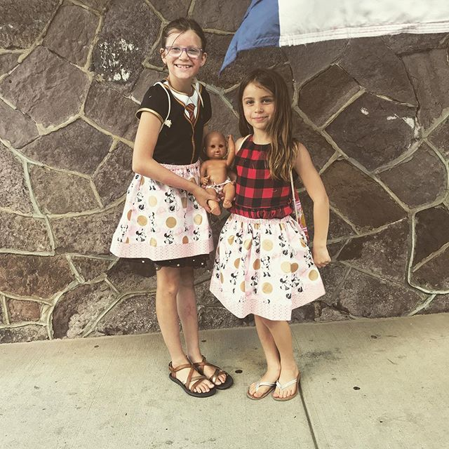 a successful first week of sewing camp!  these girls were a blast 👯♀️😊 #kidssewing #kidssewingcamp #sewingcamp #summersewingcamp #doylestown #doylestownpa #makersgonnamake #startemyoung #minniemouse #twinning #thesewingroomstore