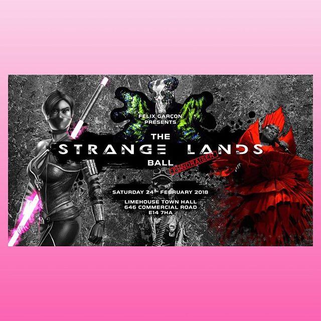 The Strange Land Ball 2018 // February by @duanenasis • • • • • • • • #StrangeLands #StrangeLandsBall #LondonBallroomScene #GarçonWays #englishbreakfastlondon #Naturalisation