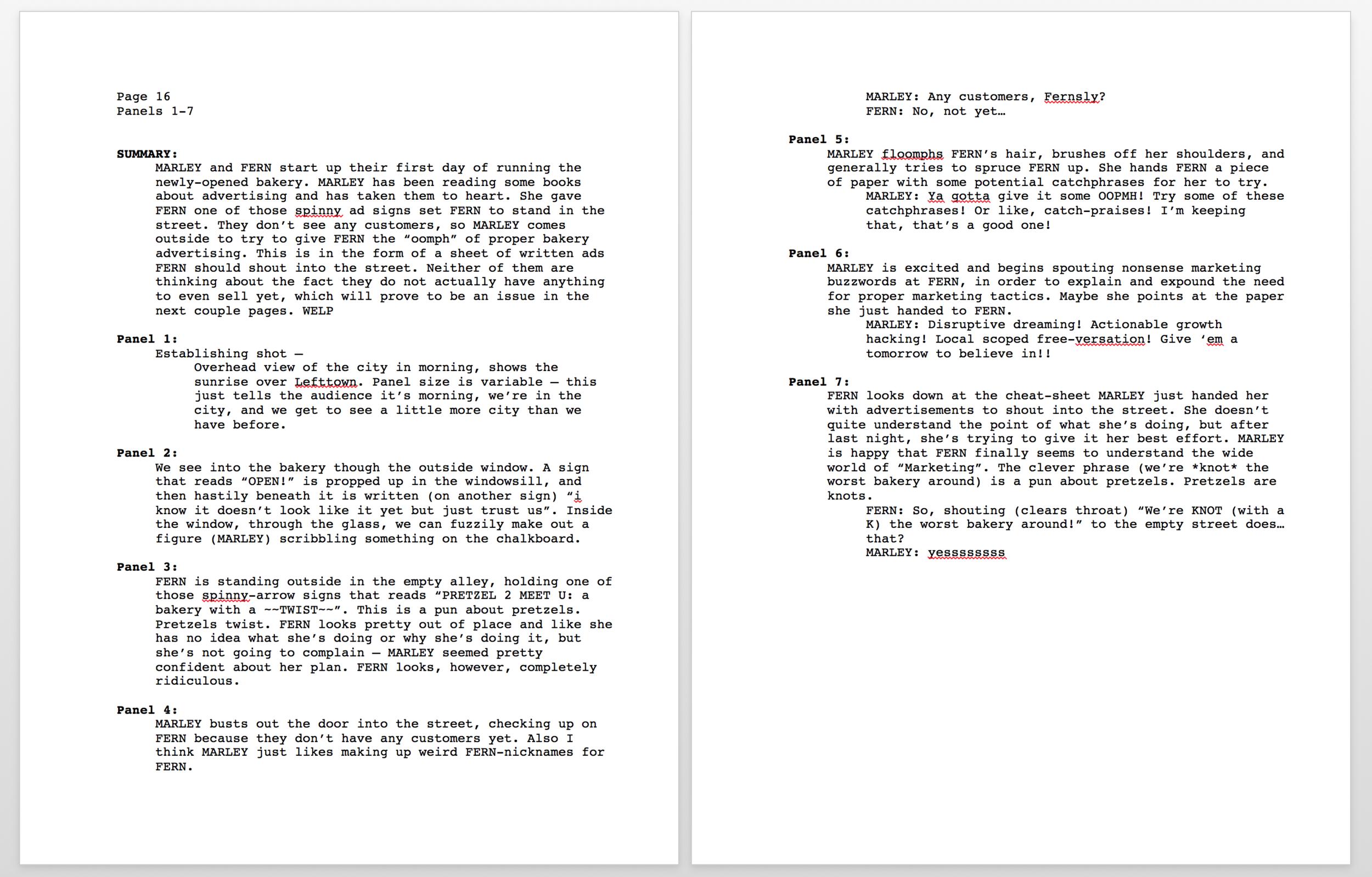 Pretzel Sample Script