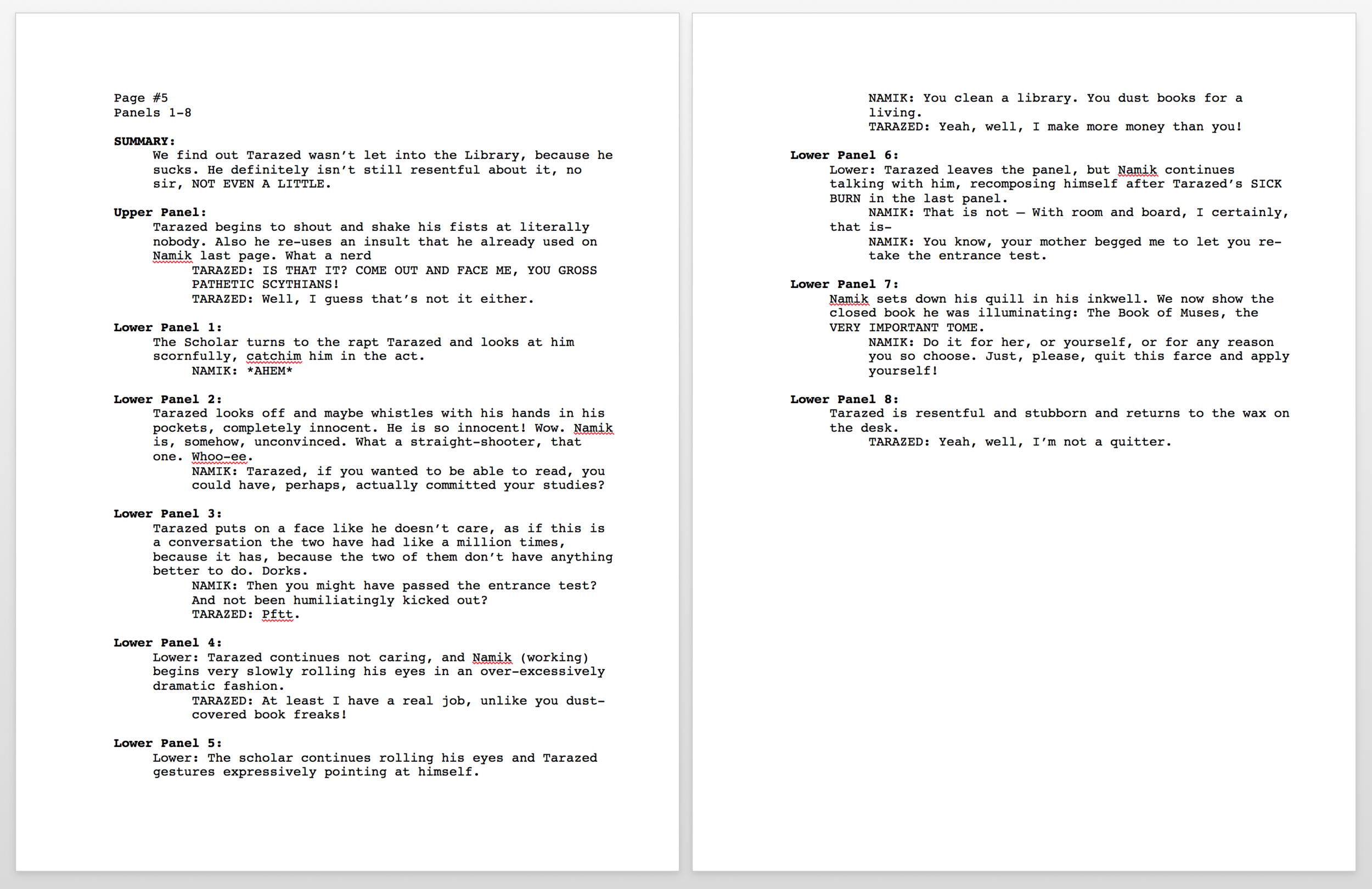 Asphodel Example Script