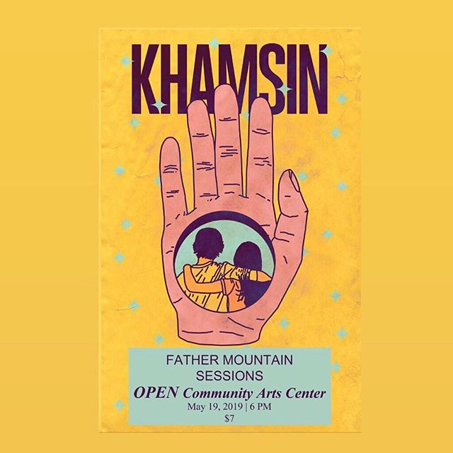 We've got a couple shows coming up next month. Excited to play with our pals in @khamsinband and @hyhband again and make some new friends.  5/19 - Louisville, KY 5/21 - Nashville, TN