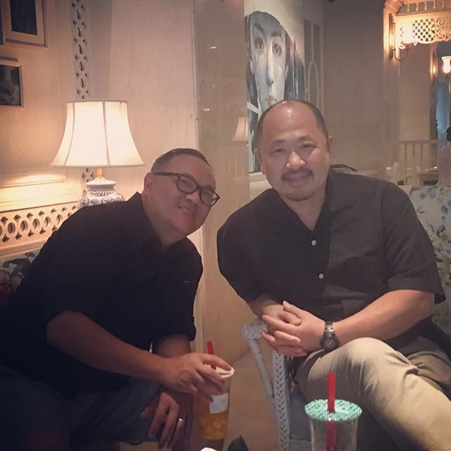 Enjoying time in Saigon with Takeshi Takazawa.