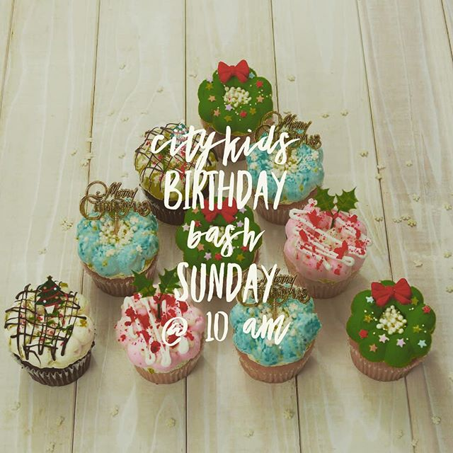 Birthday Bash tomorrow at 10 am!  Celebrating the birth of our Savior at Citykids.  Prizes, treats and loads of fun activities.  #citylightschurch#citykids#birthdaybash