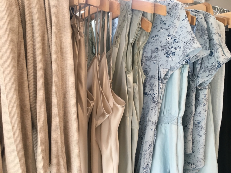 Ethically sourced, locally produced, dreamy silk slips found at Lily Ashwell