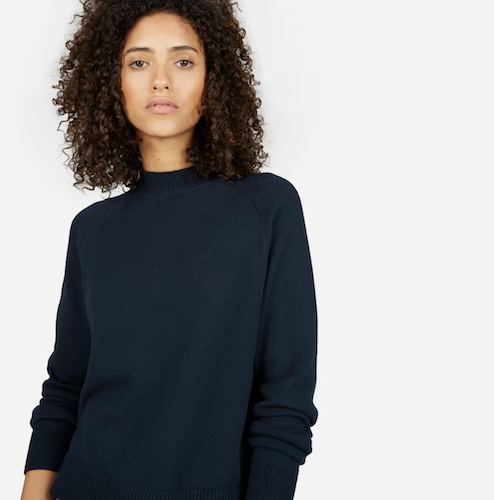 Everlane - $5 of every Human collection purchase goes to ACLUHands-on relationships with factoriesTransparent about costs with customersUses some natural fibers like recycled cotton
